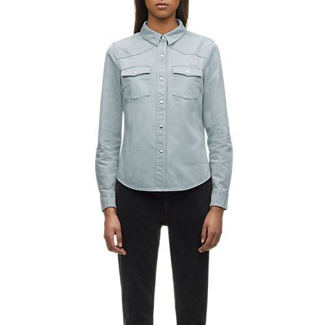 Buy Whistles Denim Shirt, Blue Denim Online at johnlewis.com