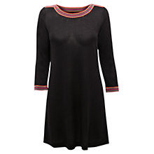 Buy East Crochet Knitted Tunic, Black Online at johnlewis.com