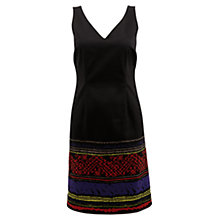 Buy East Mara Print Dress, Black Online at johnlewis.com