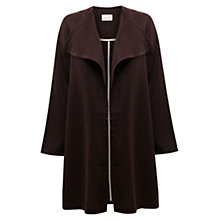 Buy East Linen Waterfall Coat Online at johnlewis.com