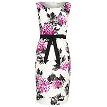 Buy Precis Petite Floral Shift Dress, Magenta Online at johnlewis.com