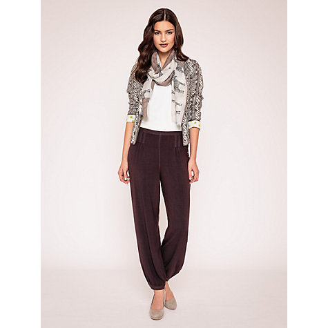 Buy East Mara Quilted Printed Jacket, Pearl Online at johnlewis.com