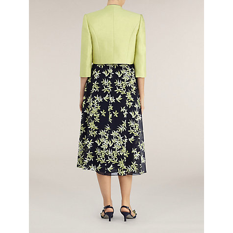 Buy Jacques Vert Lime Piped Bolero Jacket, Yellow Online at johnlewis.com
