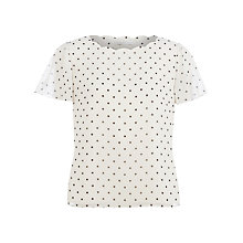 Buy Jacques Vert Spotted Blouse, Multi Online at johnlewis.com