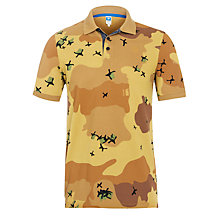 Buy G-Star Raw Joakim Camo Polo Shirt, Nomad Online at johnlewis.com