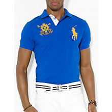 Buy Polo Ralph Lauren Crested Team Polo Shirt Online at johnlewis.com