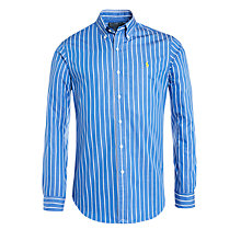Buy Polo Ralph Lauren Stripe Slim Fit Shirt Online at johnlewis.com