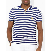 Buy Polo Ralph Lauren Striped T-Shirt, New Navy Online at johnlewis.com