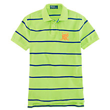 Buy Polo Ralph Lauren Bret Striped Polo Shirt Online at johnlewis.com