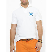 Buy Polo Ralph Lauren Custom Fit Cross Mallet Polo Shirt Online at johnlewis.com