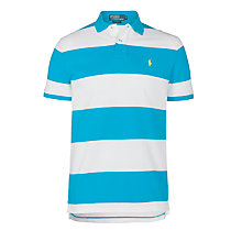 Buy Polo Ralph Lauren Block Custom Fit Polo Shirt Online at johnlewis.com