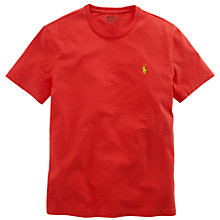 Buy Polo Ralph Lauren Custom Fit Short Sleeve T-Shirt Online at johnlewis.com