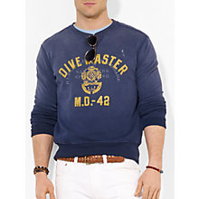 Buy Polo Ralph Lauren Dive Master Sweatshirt, Dark Cobalt Online at johnlewis.com