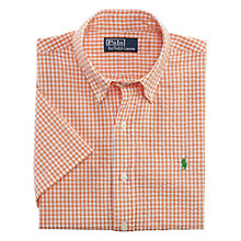 Buy Polo Ralph Lauren Gingham Check Short Sleeve Shirt Online at johnlewis.com