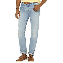 Buy Polo Ralph Lauren Varick Slim Jeans, Light Blue Online at johnlewis.com