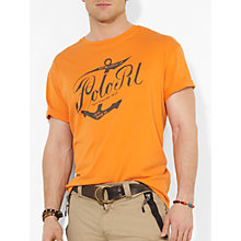 Buy Polo Ralph Lauren Anchor Logo T-Shirt Online at johnlewis.com
