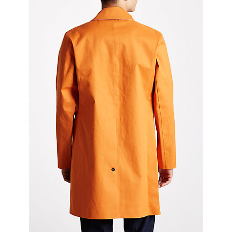 Buy Hancock Vulcanised Rubber Coated Cotton Rain Mac Online at johnlewis.com