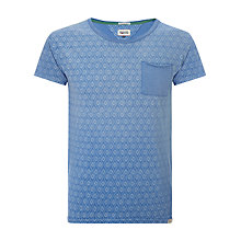 Buy Hilfiger Denim Chester Printed T-Shirt, Indigo Online at johnlewis.com