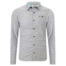 Buy Hilfiger Denim Lock Check Shirt, Bijou Blue Online at johnlewis.com