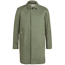 Buy Hancock Rubberised Cotton 3/4 Length Rain Mac Online at johnlewis.com