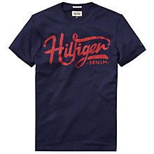 Buy Hilfiger Denim Feder Crew Neck T-Shirt Online at johnlewis.com