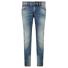 Buy Hilfiger Denim Ronnie Regular Tapered Fit Jeans, Griffin Online at johnlewis.com