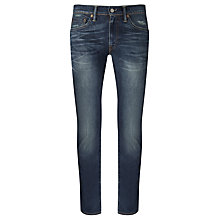 Buy Levi's 511 Archive Print Lining Jeans, Worn Repel Online at johnlewis.com