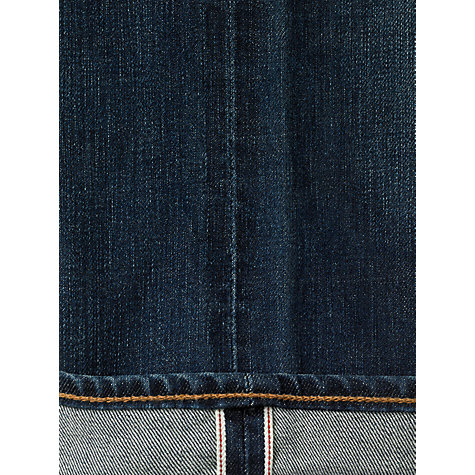 Buy Levi's 511 Slim Archive Print Lining Selvedge Jeans, Worn Repel Online at johnlewis.com