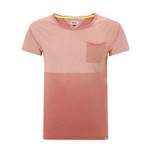Buy Hilfiger Denim Chester Printed T-Shirt, Washed Salmon Online at johnlewis.com