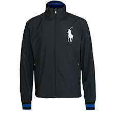 Buy Polo Golf by Ralph Lauren Open Hood Jacket, Black Online at johnlewis.com
