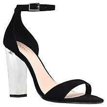Buy Carvela Gravity Heeled Sandals, Black Online at johnlewis.com