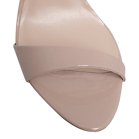 Buy Carvela Gravity Heeled Sandals, Nude Online at johnlewis.com