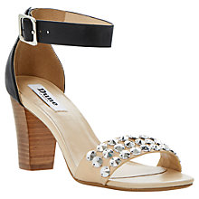 Buy Dune Flip Studding Two Colour Ankle Cuff Leather High Sandals Online at johnlewis.com