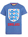Fabric Flavours Childrens England Football Logo T-Shirt, Blue