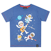 Buy Paul Frank Boys' Space Monkey T-Shirt, Blue Online at johnlewis.com