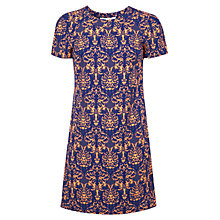 Buy Miss Selfridge Assorted T-Shirt Dress, Blue/Orange Online at johnlewis.com