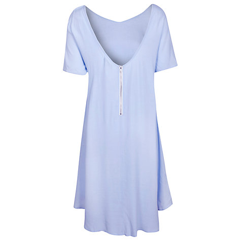 Buy True Decadence V-Back Dress, Light Blue Online at johnlewis.com