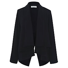 Buy Paisie Split Back Drape Jacket, Black Online at johnlewis.com