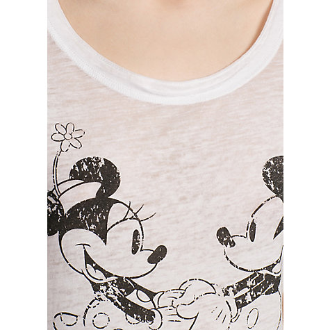 Buy Mango Minnie and Mickey T-Shirt Online at johnlewis.com