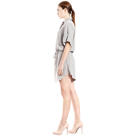 Buy Paisie Two Texture Shirt Dress, Grey Online at johnlewis.com