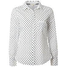 Buy White Stuff Telephone Printed Shirt, White Online at johnlewis.com