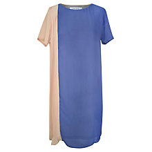 Buy Paisie Two Tone Shift Dress, Multi Online at johnlewis.com