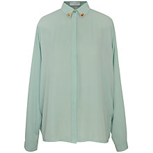 Buy Paisie Raglan Sleeve Shirt, Mint Online at johnlewis.com