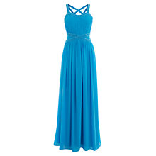 Buy Coast Pryanka Maxi Dress, Light Turquoise Online at johnlewis.com