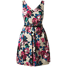Buy Closet Floral Dress, Multi Print Online at johnlewis.com
