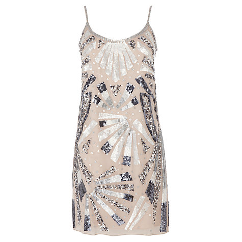 Buy Coast Elspeth Dress, Cream Online at johnlewis.com