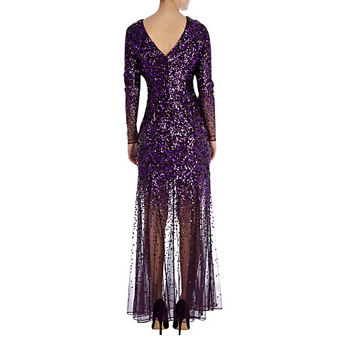 Buy Coast Stacie Sequin Maxi Dress, Merlot Online at johnlewis.com