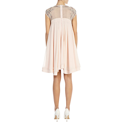 Buy Coast Thalia Dress, Soft Pink Online at johnlewis.com
