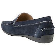 Buy Geox Simon Suede Moccasins Online at johnlewis.com