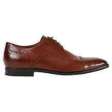 Buy Geox New Life Toe Cap Derby Shoes, Nut Online at johnlewis.com